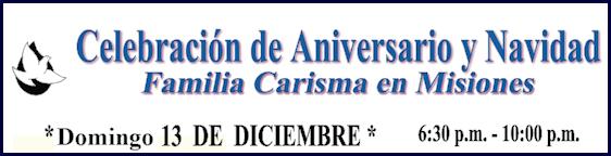 Celebracion de Aniversario y Navidad