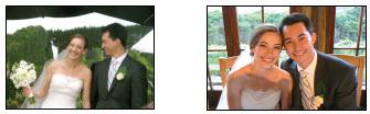 fotos de la boda del nieto de Marilynn