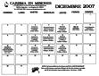 calendario de diciembre 2007