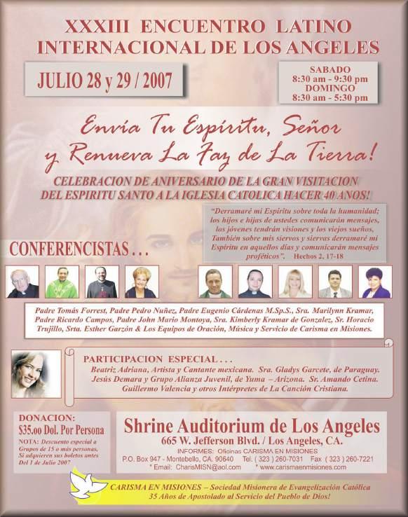 XXXIII Encuentro Latino Internacional de Los Angeles