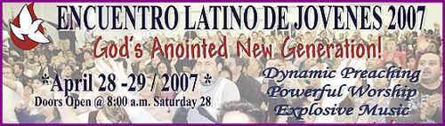 Anuncio del Encuentro de Jovenes 2007