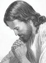 imagen de Jesus orando